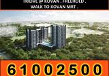 Freehold. Walk to Kovan MRT. apartment for sale