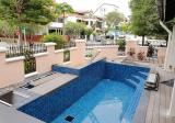 Corner house, natural lighting, nice pool - Property For Rent in Singapore