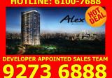 Alex Residences - 2 Mins Walk to Redhill MRT - Property For Sale in Singapore