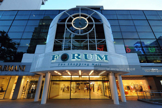 Forum The Shopping Mall 583 Orchard Road 238884 Singapore