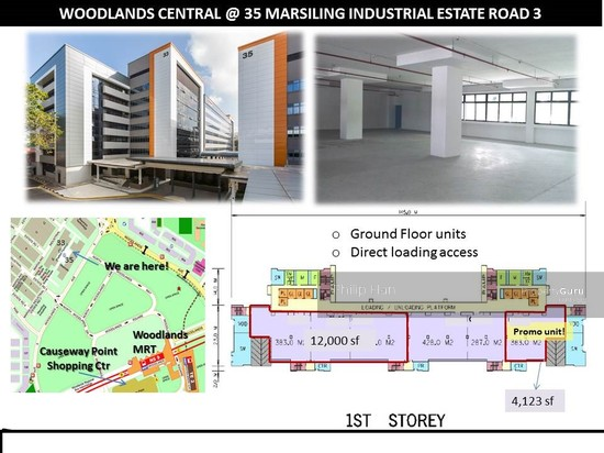 Woodlands Central, 35 Marsiling Industrial Estate Road 3 ...