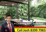 *Must See* Charming Tropical 2 Sty Semi-D with beautiful Garden @ Holland - Property For Rent in Singapore
