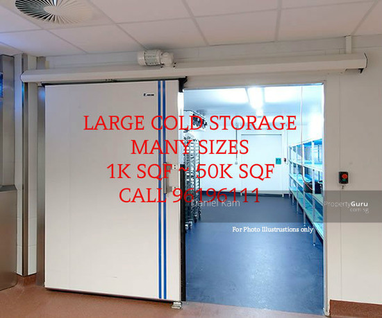 Food Factory Food Storage Cold Room Many Sizes