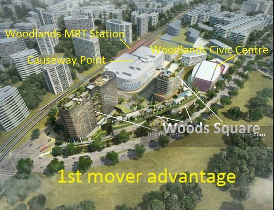 Woods Square, 6 Woodlands Square, 737737 Singapore, Other