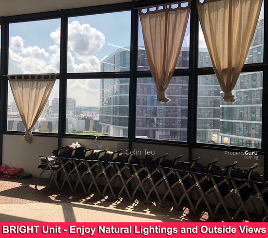 Light Industrial Near Mrt: Paya Lebar Road Near Tai Seng MRT- Bright Unit With Lots