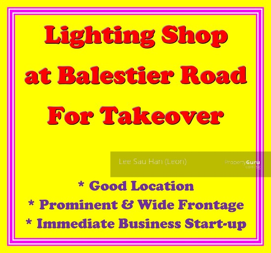 Takeover, Balestier Road, 329800