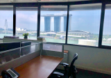 ☎️Top Fully Fitted Office Unit with BAY Views @ Raffles Place MRT - Property For Rent in Singapore