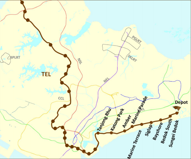 Residential Properties Affected By Thomson East Coast Line