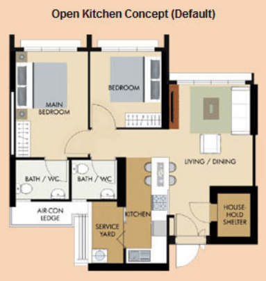 60 Of Flat Buyers Opt For Open Kitchen Concept Home Living