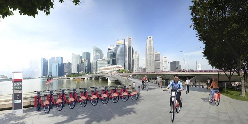 Marina Bay bicycle sharing scheme-crop