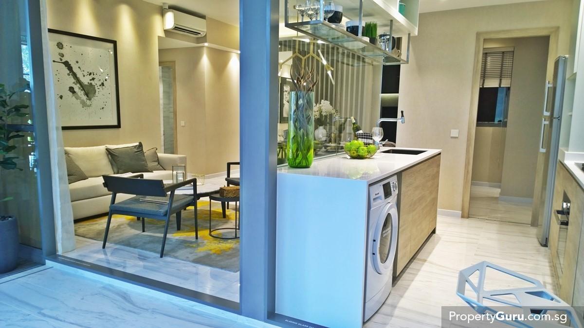 Kitchen And Living Room<br> : Condominiums under $1 million  Home & Living  PropertyGuru.com.sg