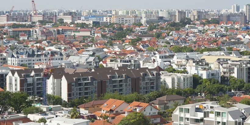 Singapore residential area