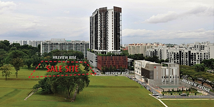 Hong Leong acquires Hillview Rise site for $460m