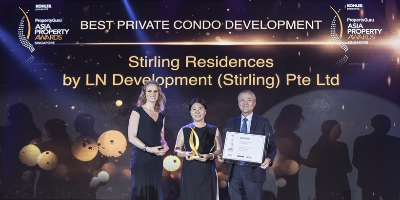 Logan Property and Nanshan win Best Private Condo Development Award
