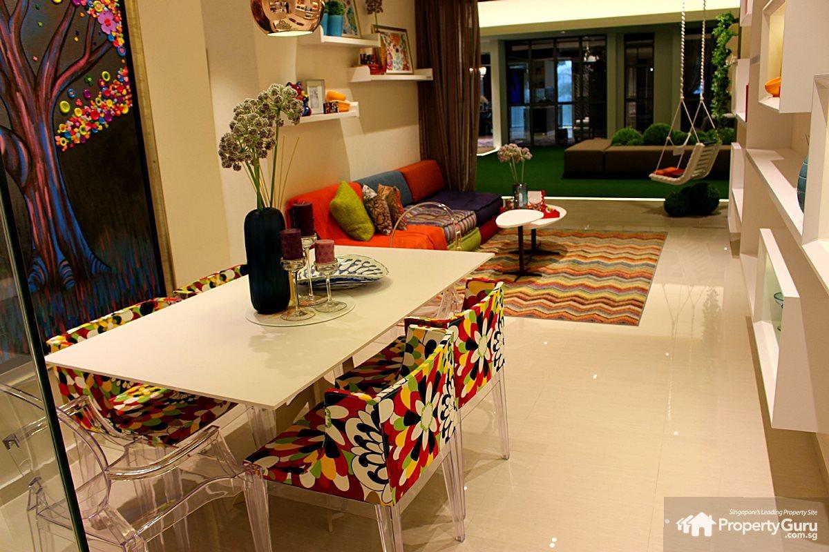 E C Home Design Part - 50: Three Bedroom, 3 Room, Unit, Layout, Choa Chu Kang, Ec