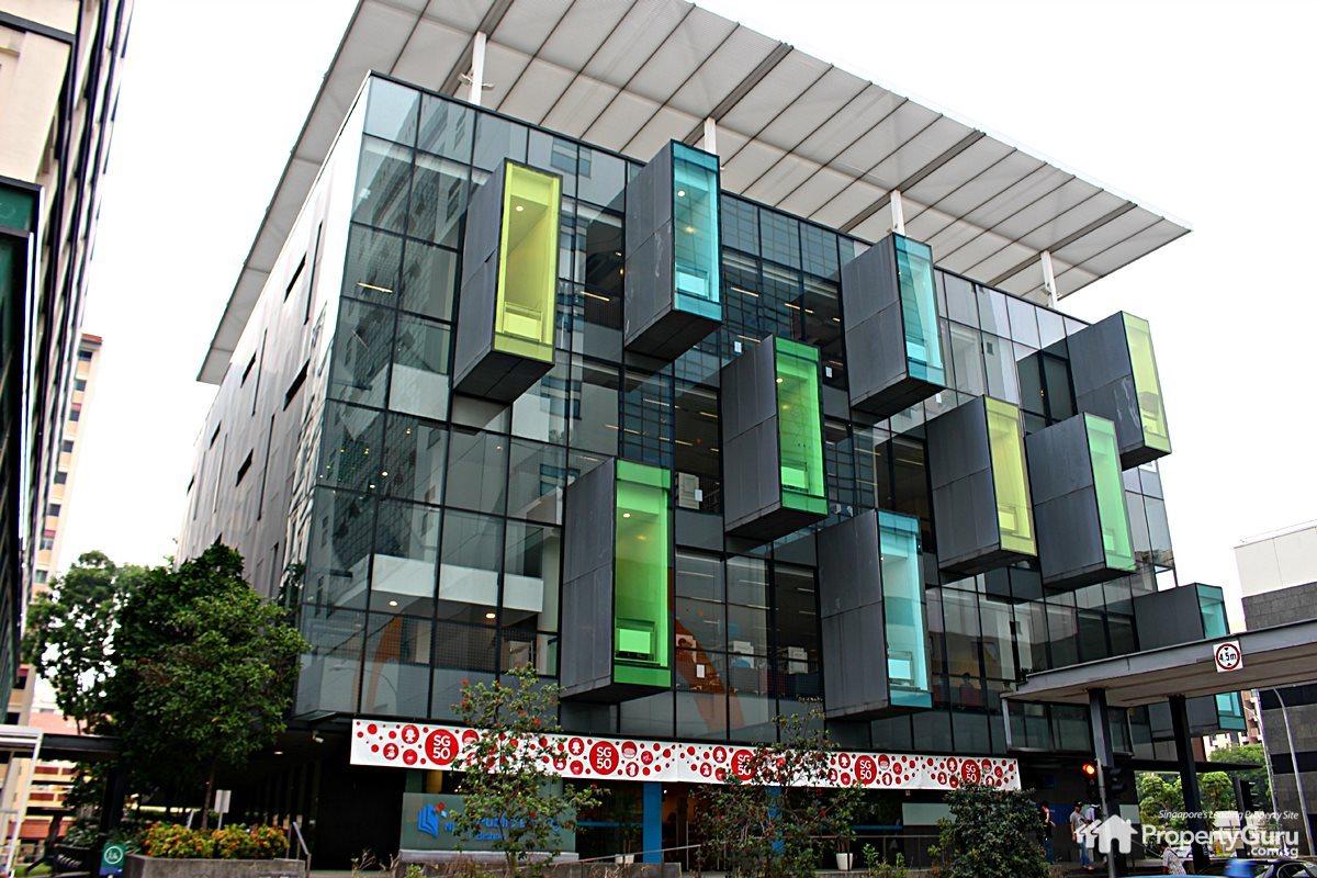 Bishan library study space