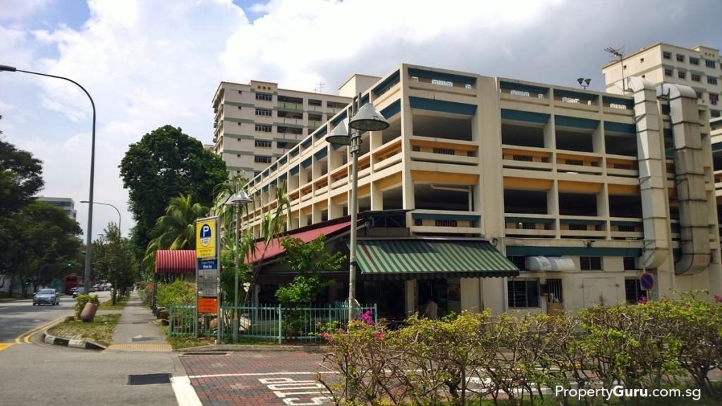 Hawker Centre along Jalan Tenga
