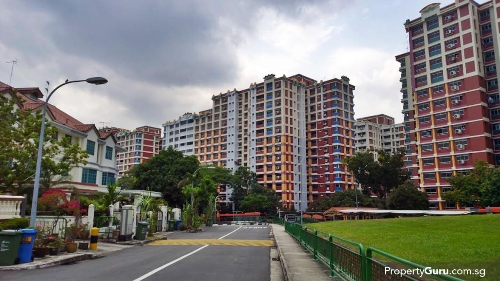 Ingress and Egress to Jalan Singa