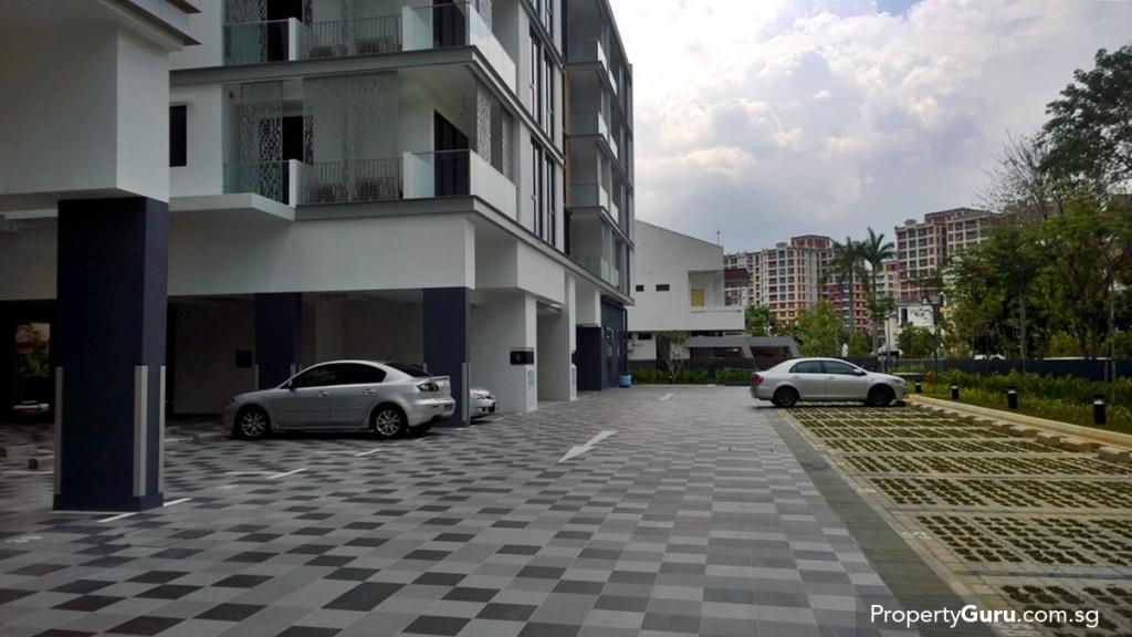 surface car park