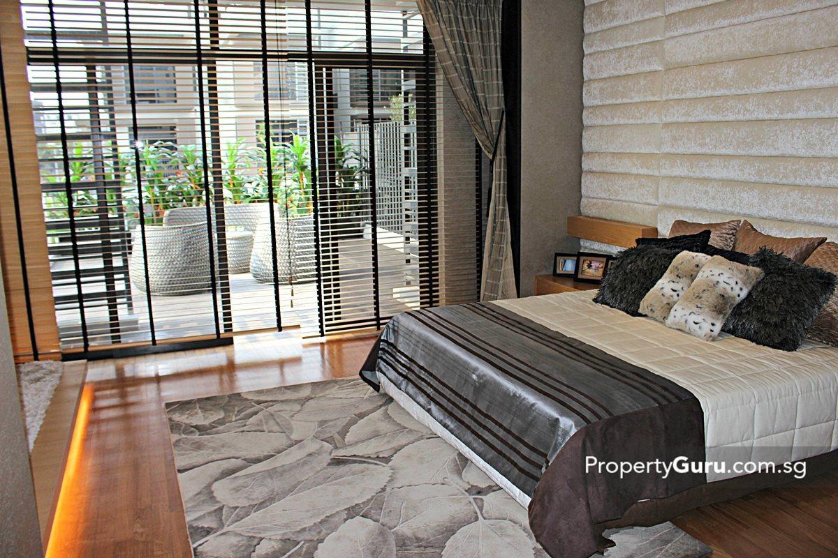 Luxus hills review propertyguru singapore Master bedroom with terrace