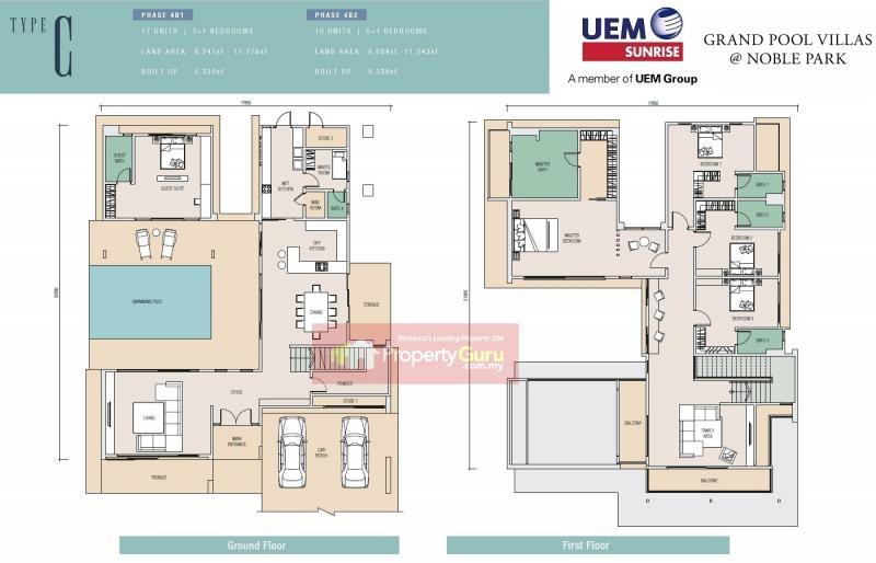 Noble Park Grand Pool Villas East Ledang Is For Sale Propertyguru Malaysia