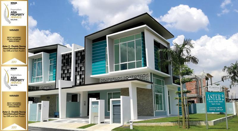 Aster 2 Double Storey Semi Detached House