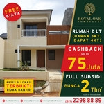 Royal Oak Town House : Cashback Up to 75 juta