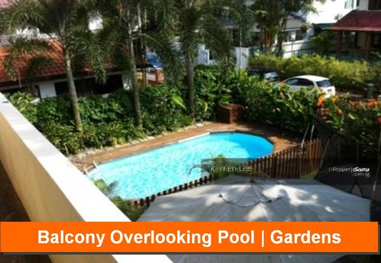 Gorgeous bungalow pool garden chancery area near for Garden pool bungalow