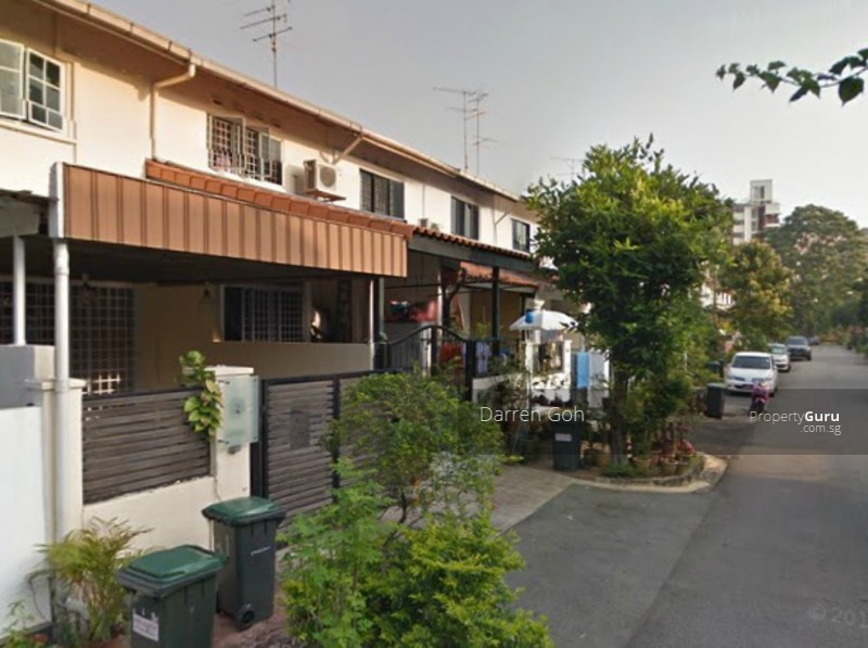 Cheapest terrace house upp thomson jalan kuak 2 for Terrace house singapore