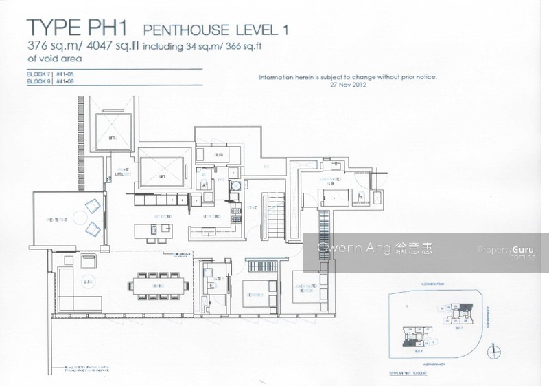 Echelon Alexandra Floor Plan | Meze Blog