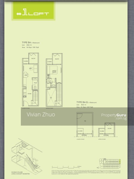1 Loft 1 Lorong 24 Geylang 4 Bedrooms 1324 Sqft