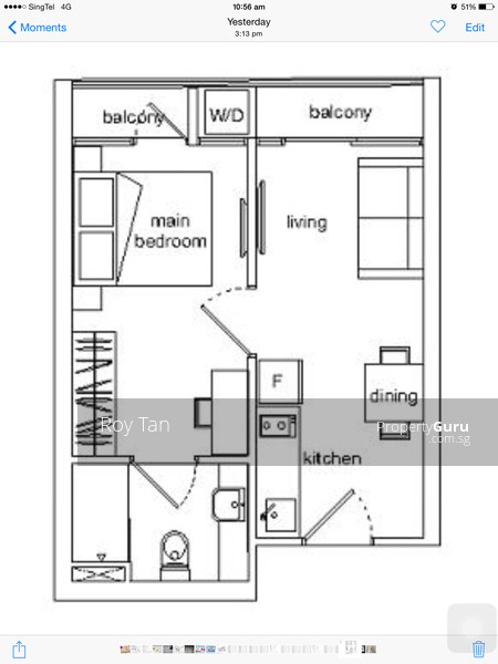 Suites Sims 468 Sims Ave 1 Bedroom 377 Sqft