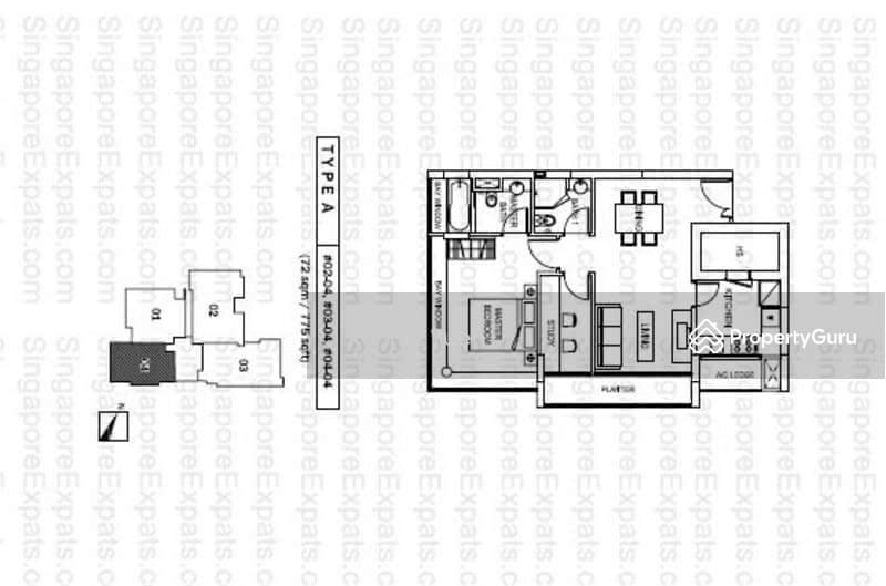The Adara 9 Chapel Road 1 Bedroom 775 Sqft