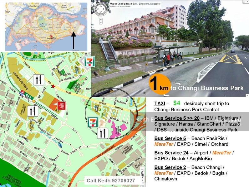 Apartments / flats nearby Changi Business Park Avenue?
