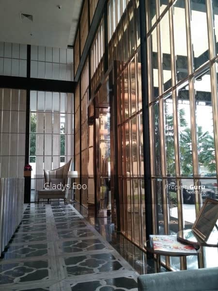 Grand concierge lobby