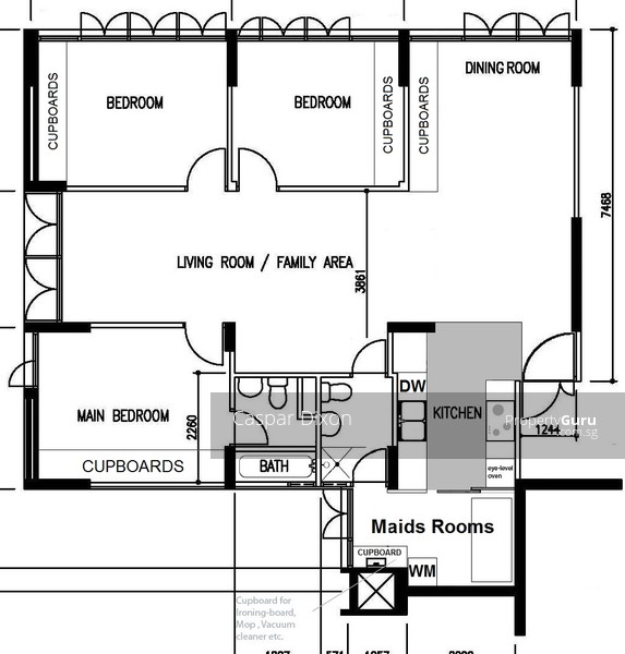 39 Telok Blangah Rise 3 Bed Maids Room 3 Bedrooms 1270 Sqft Hdb Flats For Rent By Caspar