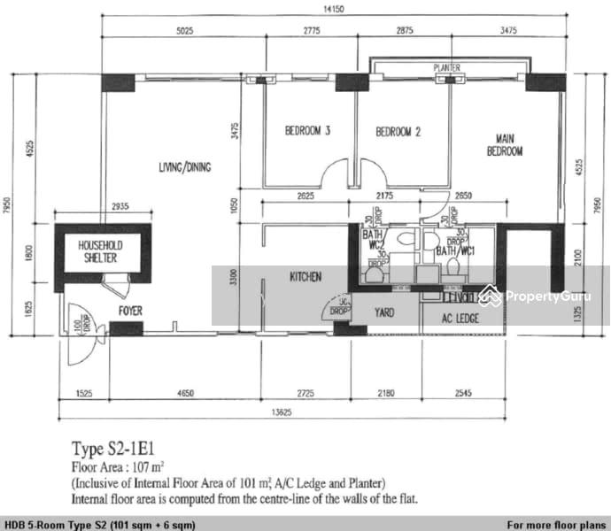 Pinnacle @ Duxton, 1B Cantonment Road, 3 Bedrooms, 968 Sqft, HDB ...