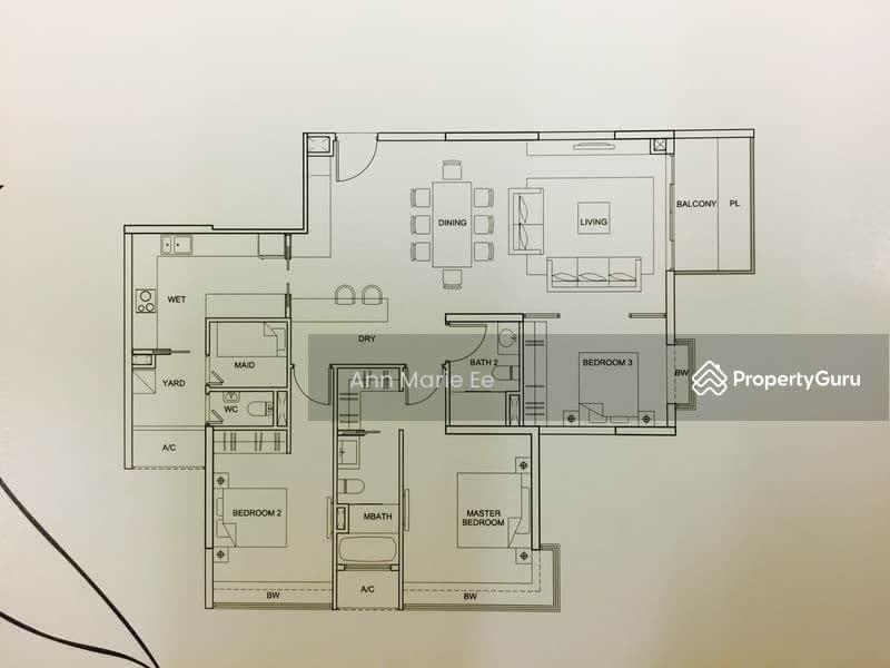 Tresalveo 9 Marymount Terrace 3 Bedrooms 1528 Sqft