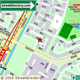 Yishun Ring Road Map