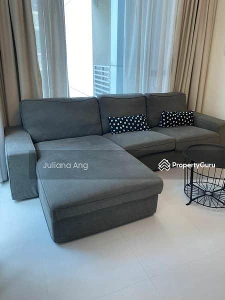 L shape 3 seaters sofa