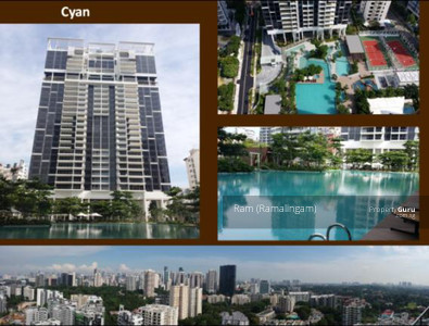 For Rent - Cyan