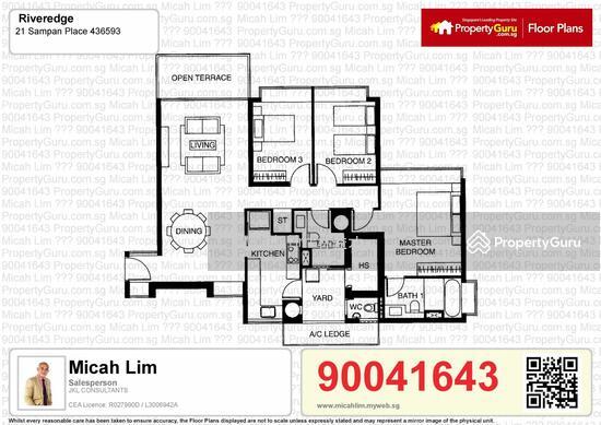 Riveredge, 21 Sampan Place, 3 Bedrooms, 1485 Sqft, Condominiums ...