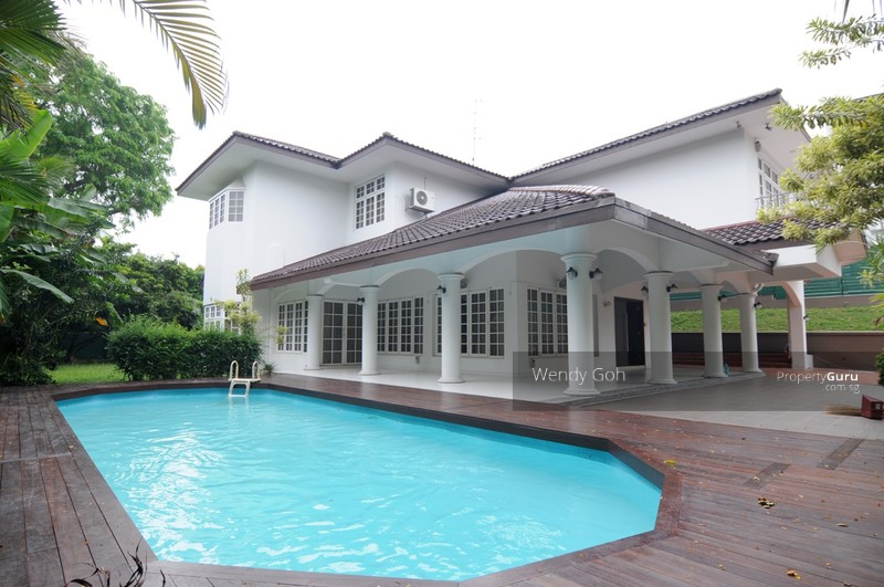 2 storey 5 bedroom beautiful bungalow with pool garden for Garden pool bungalow