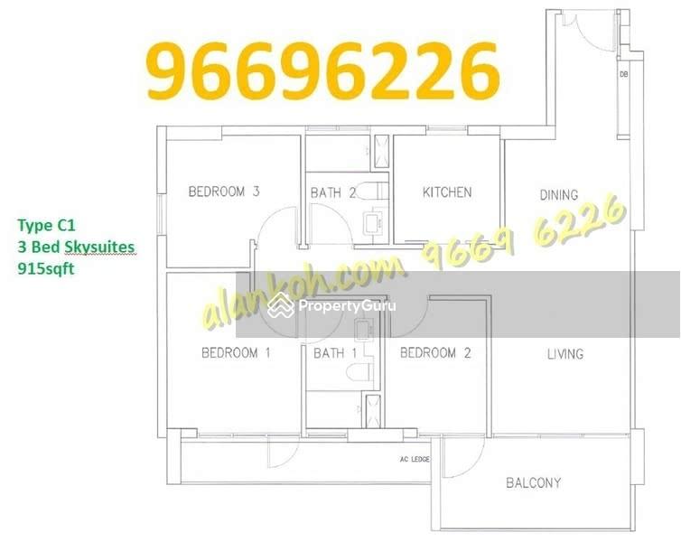 18 Woodsville, 18 Woodsville Close, 3 Bedrooms, 915 Sqft ...