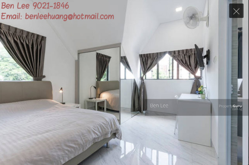 Hougang Mrt Master Studio Bedroom Rent Lease Landed Jalan Naung Room Rental 300 Sqft