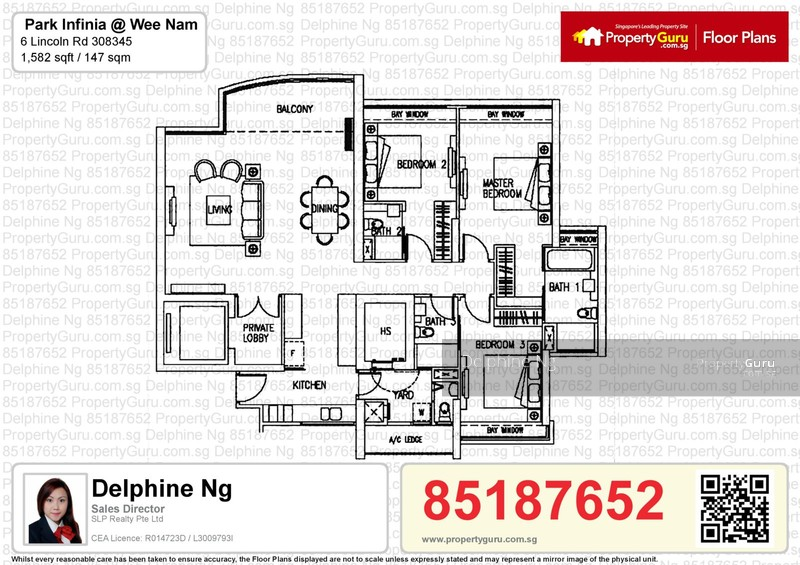 Park Infinia At Wee Nam 2 Lincoln Road 3 Bedrooms 1582 Sqft Condominiums Apartments And