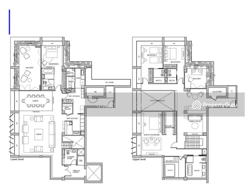 Le Nouvel Ardmore, 1A Ardmore Park, 4 Bedrooms, 5350 Sqft ...