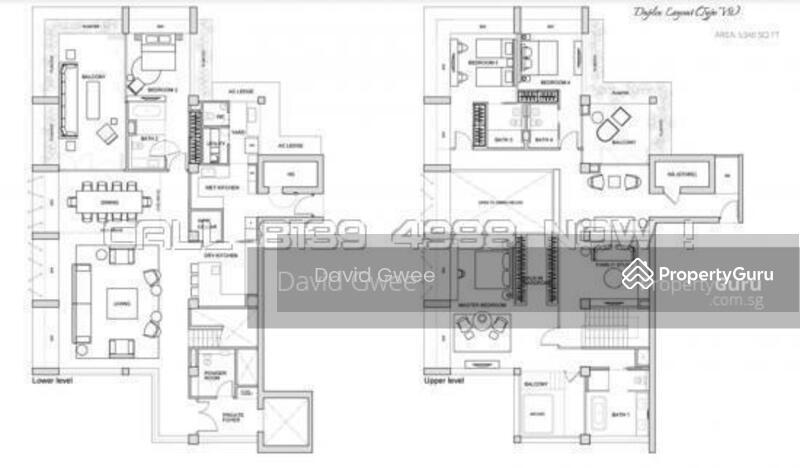 Le Nouvel Ardmore, 1A Ardmore Park, 4 Bedrooms, 3789 Sqft ...