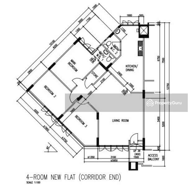 306 Shunfu Road, 306 Shunfu Road, 3 Bedrooms, 1076 Sqft, HDB Flats ...