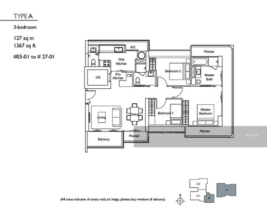 Domus 8 Irrawaddy Road 3 Bedrooms 1367 Sqft Condos Apartments For Sale By Darren Ong S 2 200 000 20139906